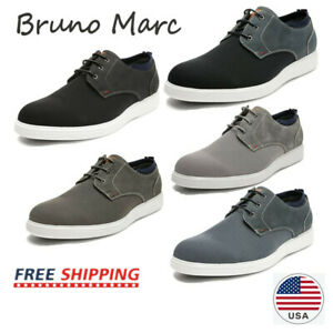 Bruno Marc Mens PU Dress Casual Shoes Sneakers Lace-up Business Oxfords Shoe