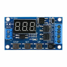 DC 5V~36V Dual MOS Control Cycle Trigger Timer 12V Delay Relay Module Switch LED