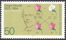 Germania 1984 Gregor Mendel/Scienza/genetica/Piante/biologia/PEOPLE 1 V (n27527)
