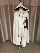 More details for masonic, knights preceptor mantle, cap, star or scabbard