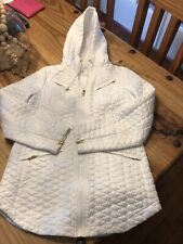 Chicos While Quilted Jacket Size 0