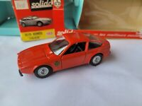 VINTAGE SOLIDO - ALFA ROMEO ZAGATO [RED] VHTF EXCELLENT CONDITION BOX GOOD