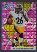 2020 Panini Mosaic ANTHONY McFARLAND Pink Camo Rookie Prizm Steelers RC Mint