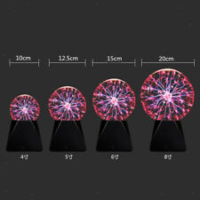 Kristallglas Plasmakugel Beleuchtung Kugel Kugel Tischlampe Party Ornamente