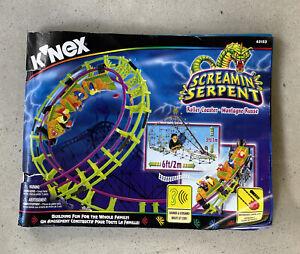 K'Nex KNEX SCREAMIN SERPENT Roller Coaster Instructions Manual ONLY #63153