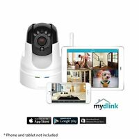 D-Link Wireless N Pan/Tilt/Zoom Cloud Camera Security Remote Monitoring DCS-5222