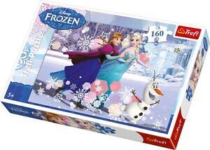 Disney Die Eiskönigin Frozen Puzzle 160 Teile Anna Elsa Olaf