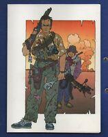 Geof DARROW. Carte postale. EAST MEETS WEST. Editions Aedena 1986. réf.8/1