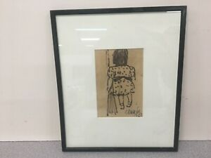NW School Art Ink Drawing William Bill Cumming Northwest Original # 2