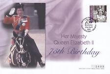 (19512) Gibraltar FDC Queen 75th Birthday 20 April 2011