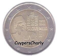 Slovenie 2011 2€ UNC Franc  Rozman