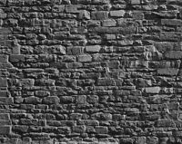 &   8 SHEETS EMBOSSED BUMPY BRICK stone wall 21x29cm scale 1/12 CODE G3wV6