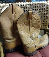 Justin 11 1/2 D 12 D Men's Cowboy Western Boots Guard Vintage-Collection/Gift
