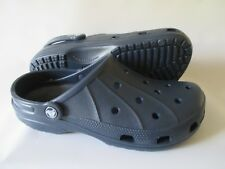 CROCS Ralen clogs, women's size 10 (Roomy Fit) Navy Brand New