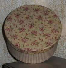 Primitive Country Fabric Covered Box