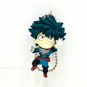My Hero Academia Swing Mascot PVC Keychain Charm SD Figure Izuku Midoriya @8327