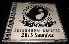 Zero Budget Records 2015 Cd Rare Oop Gorgatron Graveslave Beastface Mastiff