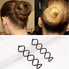 Nice 4PCS/SET Spiral Spin Screw Pin Hair Clip Twist Hair Salon Modelling