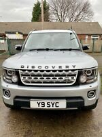 2007 LAND ROVER DISCOVERY 3/4.5 2.7 TDV6 HSE AUTOMATIC DIESEL 7 SEATER 15 STAMPS