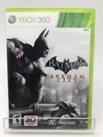 Batman: Arkham City (Microsoft Xbox 360, 2011) Complete