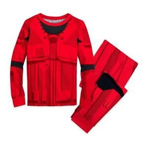 NWT Disney Store Star Wars Sith Trooper Costume PJ Pals Pajama Set Kids