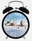 """Disney Planes Dusty Desk Clock 3.75"""" Home or Office Decor B226 Nice For Gift"""