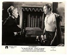Captain Falcon Original Lobby Card Lex Barker Rossana Rory Holding Sword 1958