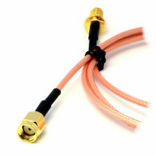 WiFi Router Antenna EXTENSION Cable/Lead Wireless RP SMA 30cm SHORT [007048]