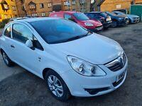 Vauxall corsa 1.2 White colour MOT 31/12/21 £30 road tax three previous owners..