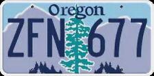Licence Plate - OREGON  Kennzeichen USA Nummernschild DEKO, NEU OVP!!