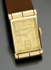 14K Yellow Gold Vacheron Constantin Watch CA1930s Triple Signed Vacheron