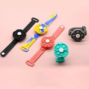 Wristband Push Pop Bubble Fidget Toy With Hand Bubble Bracelet