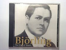 The King of Tenors ~ Jussi Bjöerling CD Nr Mint