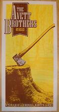 2013 Avett Brothers - Council Bluffs Concert Poster by Mathias Valdez
