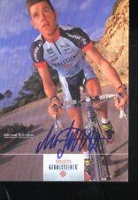 MICHAEL SCHLICKAU cyclisme cycling SIGNED GEROLSTEINER