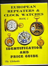 EUROPEAN REPEATERS & CLOCK WATCHES-EHRHARDT-PRICE GUIDE / AUCTION PRICES-1993