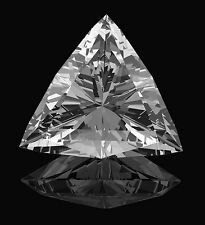 5.8mm VS Reinheit Trilliantschliff Facetten Natürlicher afrikanischer Diamant (