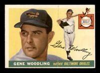 1955 Topps Set Break # 190 Gene Woodling VG-EX *OBGcards*