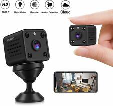 Mini Camera - CUSFLYX Tiny Portable 1080P WiFi Full HD Nanny Pet Office Sports G