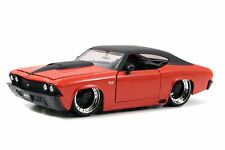 JADA 1:24 DISPLAY BIG TIME MUSCLE 1969 CHEVROLET CHEVELLE SS Die-cast Car 90213