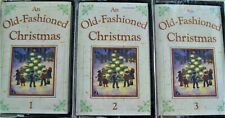 An Old-Fashioned Christmas 3 Cassette tapes New & Sealed