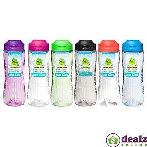 Sistema Hydrate Tritan Bottle Water Juice Drinks School Work Gym 800ml BPA Free