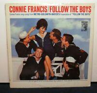 CONNIE FRANCIS FOLLOW THE BOYS (VG+) E4123 LP VINYL RECORD