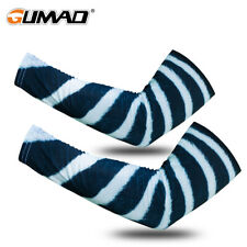 New listing 1 Pair Unisex Outdoor Sports Cooling Arm Sleeves Cover Sun Protection Golf Ball