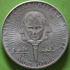 TURQUIE 100 LIRA 1973 ARGENT