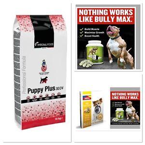 BullyMax Vitamins+ Puppy Plus! +Steamed Meat! Duck!Fish!Chicken!Lamb!Venison