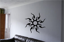 Tribal Sun Wall Sticker Wall Art Decor Vinyl Decal Mural Sticker Tribal Sun
