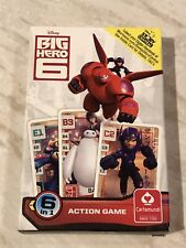 Disney Big Hero 6 Six Action Card Game - New And Sealed Inside Box