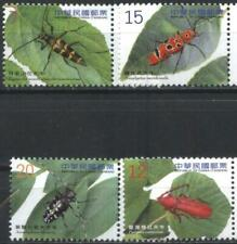 Mint stamps Fauna Insects Beetles  2012  from  Taiwan   avdpz