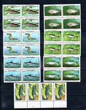 "1987 NICARAGUA -   4 Sets  ""PECES, FISHES""  MINT"